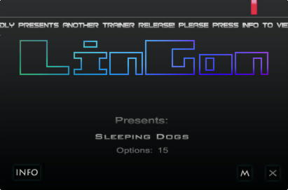 Sleeping Dogs Trainer +15 v1.7 {LinGon}