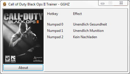 Call of Duty: Black Ops 2 Trainer +3 v1.0 {Chris GGHZ}
