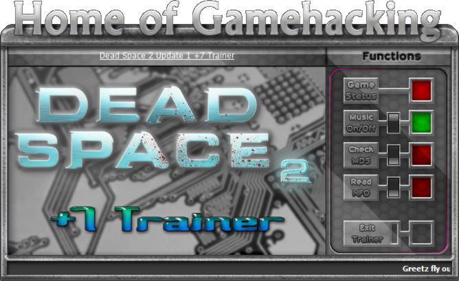 Dead space 2 трейнер скачать