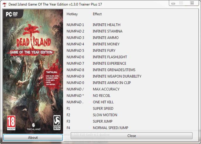 скачать Dead Island Definitive Edition трейнер - фото 9