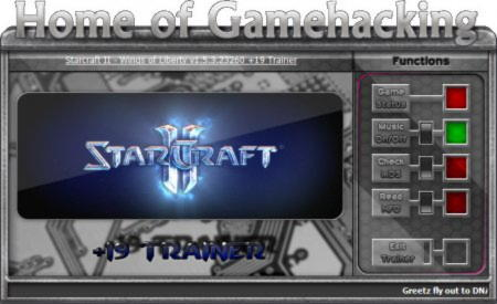 StarCraft 2: Wings of Liberty Trainer +19 v1.5.3.23260 {HoG}