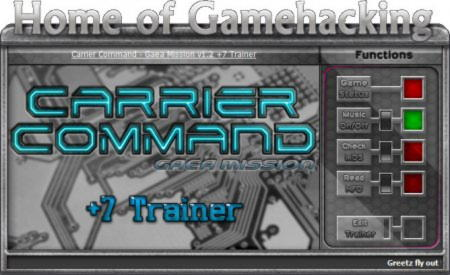 Carrier Command: Gaea Mission Trainer +7 v1.02 {HoG/sILeNt heLLsCrEAm}