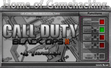 Call of Duty: Black Ops 2 Trainer +4 v1.3 {HoG}