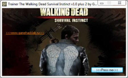 The Walking Dead: Survival Instincts Trainer +2 v1.0 {GHL}