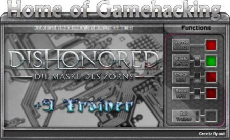Dishonored: The Knife of Dunwall Trainer +9 v1.3 Up3 {HoG}