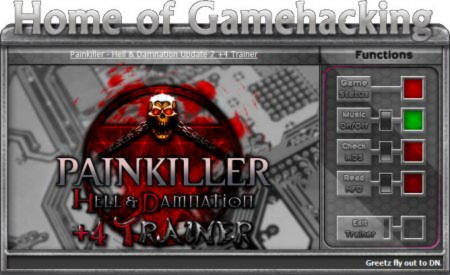 Painkiller: Hell & Damnation Trainer +4 v1.3 - 1.7 Up7{HoG/sILeNt heLLsCrEAm}