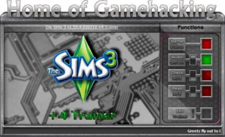 The Sims 3 Trainer +4 v1.55.4.020210 {HoG}
