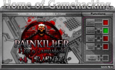 Painkiller: Hell & Damnation Trainer +4 v1.9 Up9 {HoG}