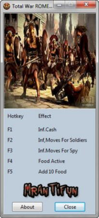 Total War: Rome 2 Trainer +4 v1.0 {MrAntiFun}