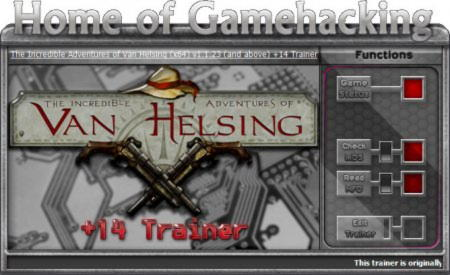 The Incredible Adventures of Van Helsing Trainer +14 v1.1.23: 64 Bit {HoG}