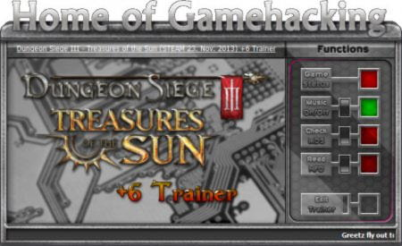 Dungeon Siege 3: Treasures of the Sun Trainer +6 Steam Update 23.11.13 {HoG}