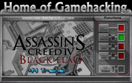 Assassin's Creed 4: Black Flag Trainer +14 v1.02 {HoG}