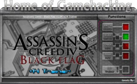 Assassin's Creed 4: Black Flag Trainer +14 v1.04 {HoG}