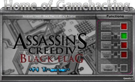 Assassin's Creed 4: Black Flag Trainer +14 v1.05 {HoG}