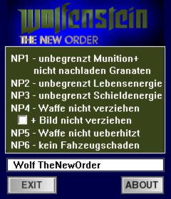 Wolfenstein: The New Order Trainer +7 v1.0 {dR.oLLe}