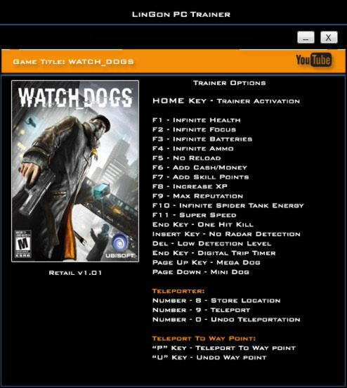 Watch Dogs  Level Up Cheat