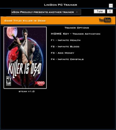 Killer Is Dead Trainer +4 1.0 {LinGon}