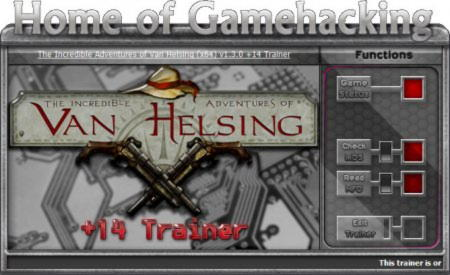 The Incredible Adventures of Van Helsing Trainer +14 v1.3.0: 64 Bit {HoG}