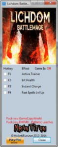 Lichdom: Battlemage Trainer +3 Build 65558: 32 Bit {MrAntiFun}