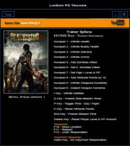 Dead Rising 3 Trainer +19 Update 1 {LinGon}