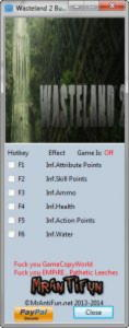 Wasteland 2 Trainer +6 Build 09-19-2014 {MrAntiFun}