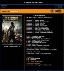 Dead Rising 3 Trainer +25 Update 1 {LinGon}