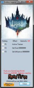 Endless Legend Trainer +2 v1.0: 64bit {MrAntiFun}