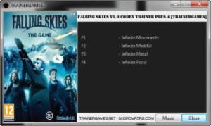 Falling Skies: The Game Trainer +4 v1.0 {TRAiNERGAMES}