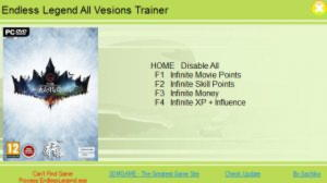 Endless Legend Trainer +5 All Versions {XiaoXing}