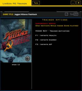 Jagged Alliance: Flashback Trainer +3 v1.0 {LinGon}