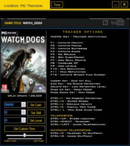 Watch Dogs Trainer +27 v1.06.329 {LinGon}