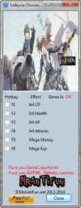 Valkyria Chronicles Trainer +5 v1.0 {MrAntiFun}
