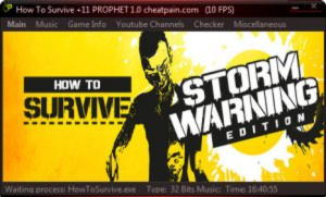 How to Survive – Storm Warning Edition Trainer +11 v1.0 {h4x0r}