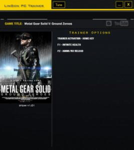Metal Gear Solid 5: Ground Zeroes Trainer +2 v1.0 {LinGon}