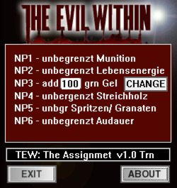 The Evil Within The Assignment Trainer +6 v1.0 {dR.oLLe}