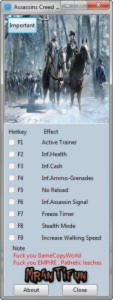 Assassin's Creed 3 Trainer +8 1.06 {MrAntiFun}