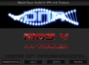 Metal Gear Solid 5: The Phantom Pain Trainer +14 v1.02 {DNA HoG}