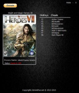 Might and Magic Heroes 7 Trainer +6 v1.1 {MrAntiFun}