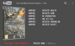 Air Conflicts: Secret Wars Trainer +6 v1.04 {LIRW GHL}