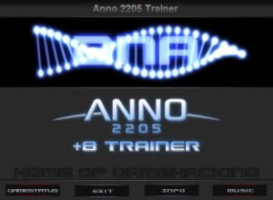 Anno 2205 Trainer +8 v1.1 {HoG}