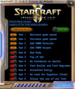 StarCraft 2: Legacy of the Void Trainer +10 v3.0.5 {Kelord}