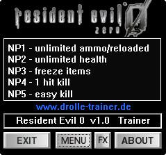 Resident Evil 0 HD Remaster Trainer +5 v1 0 dR oLLe