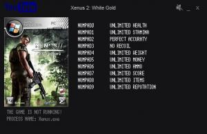 Xenus 2: White Gold Trainer +10 v1.1 Up 07.01.2016 {LIRW GHL}