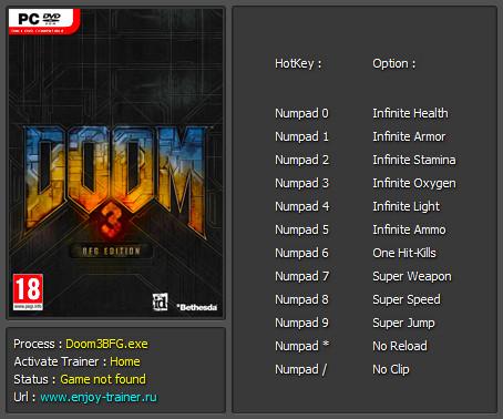 Doom 1 читы
