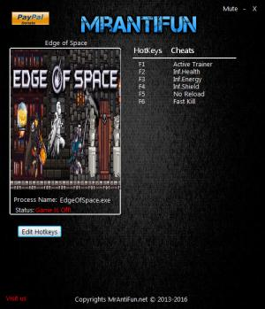 Edge Of Space Trainer +5 v1.09 {MrAntiFun}