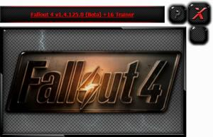 Fallout 4 Trainer +16 v1.4.125.0 Beta {HoG}