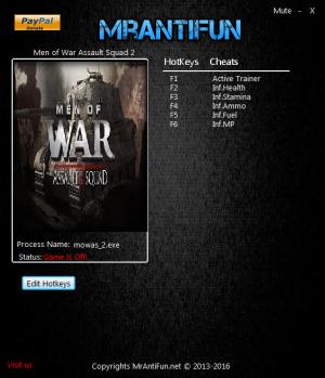 Men of War: Assault Squad 2 Trainer +5 v3.205.2 {MrAntiFun}