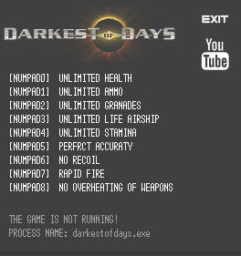Darkest of Days Trainer +9 v1.05] {LIRW GHL}