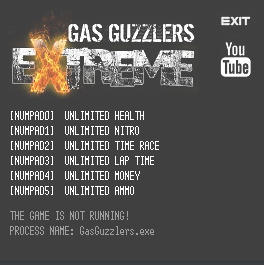 Gas Guzzlers Extreme Trainer +6 v1.0.7 {LIRW GHL}