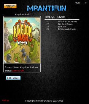 Kingdom Rush Trainer +5 v2.2 {MrAntiFun}